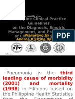 CPG- Pneumonia (2010 Update)