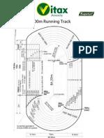 400m Running Track