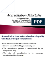 Accreditation Principles
