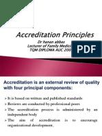 Accreditation Principles