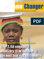 Unicef Nigeria Newsletter on Polio Eradication Initiative - March 2012