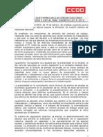 Enmiendas CCOO-UGT a la Reforma Laboral