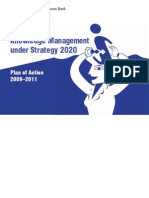 Knowledge Management Action Plan, 2009-2011