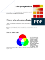 Historia del color y sus principios básicos