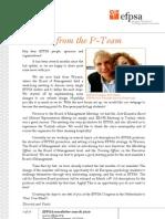 Efpsa Newsletter March 2010