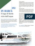 Escursioni in barca sul Lago di Garda - vivere un'emozione sull'acqua