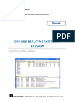 Opc and Real-time Systems in Labview
