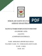 Folio Kimia Tingkatan 4 (2012) Asri Adnan