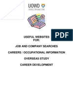 Websites for Job Search