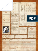 Fantasy Craft Variant Sheet Color v1.2 Fillable