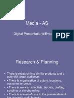 Media - As - Digital Presentations