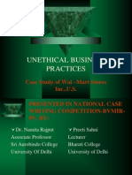 case study on unethical business practices