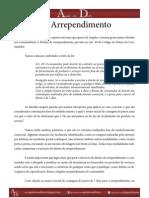 Agindo com Direito - Direito de Arrependimento - Ano 1 - Ed. 1