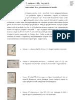 Manoscritto Voynich. Un po di chiarezza sul libro più misterioso del mondo