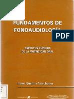 Fundamentos de Fonoaudiología