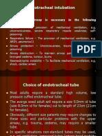 ETT intubation