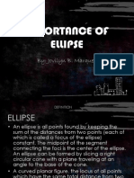 Importance of Ellipse