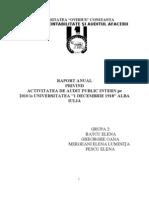 Proiect Audit Intern