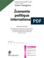 Économie_politique_internationale Chavagneux