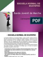 Banda Juvenil Ecatepec Requerimientos