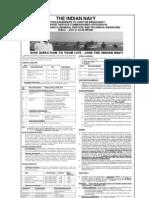 SSC Recruitment At Indian Navy