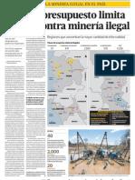 Falta de Presupuesto y Gestión del Gobierno del Perú limita acción contra Minería Ilegal