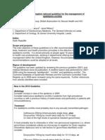 Management of Epididymo-Orchitis 2010