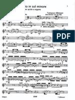 Albinoni-Adagio in Sol Minore