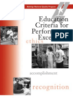 2003 Education Criteria