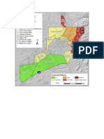 Wildfire map and action plan