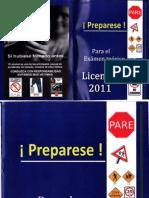 Examen Licencias 2011