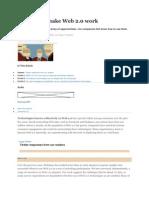 Six Ways to Make Web 2