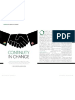Continuity in Change