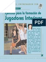 1062 Ejercicios Formacion Jugadores Interiores m Monsalve