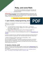 Ruby Homework