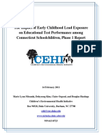 Linking Lead and Education Data in Connecticut