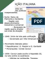 Aula 19 - UNIFICAÇÃO ITALIANA e ALEMÃ