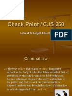 Check Point Law and Leagle Issues
