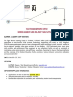 2012 SummerAcademy_Application - Military