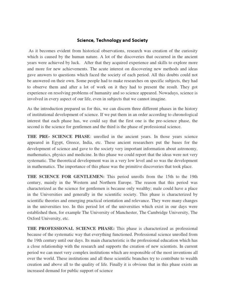 Essay society science car business plan