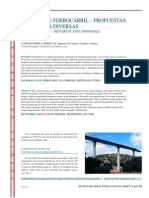 Puentes de Ferrocarri - Tipologias Diversas