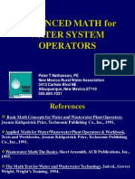 Advanced Operator Math