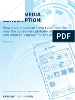 Global Mobile Media Consumption