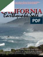 Sale Catalog - California Earthquake Sale