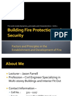Building Fire Protection and Security Lesson 1