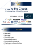 Above the Clouds - A Berkeley View of Cloud Computing