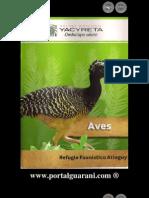 AVES - Refugio Faunístico Atinguy - Entidad Binacional Yacyretá - Paraguay - PortalGuarani