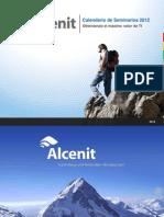 Alcenit - Course Calendar 2012