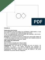 Test - Tarjetas Bender con indicaciones evaluación