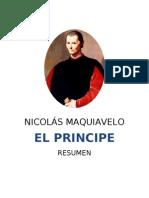 El Príncipe - Nicolás Maquiavelo (RESUMEN)